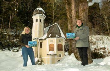 2. Auflage vor der Ölbergkapelle im Bergsteigedorf Sachrang Foto Berger
